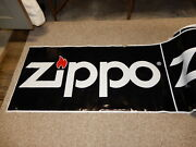 Vintage Zippo Advertising Banner Large Roll 60-80 Logo Signs