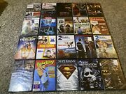 54 Dvd Movie Lot Superman Ted The Ring Jack Teacher Book Of Eli Annabelle + More