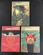 Mythology Of S. Clay Wilson Vol 1-3 Pirates Demons Lace From Hell 1st Prints Vf