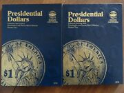 President Dollar Coin Folder Complete Collection 2007 - 2016 P And D Mint Album