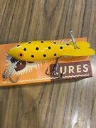 Excellent Vintage Bomber Fishing Lure 639 With Box And Paperwork