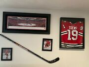 2015 Chicago Blackhawks Team Autographed Hockey Stick Purchased At Fundraiser