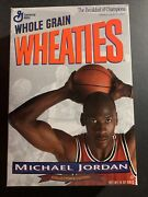 Michael Jordan First Edition Wheaties Box Unopened With Poster Org Seal 1989