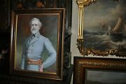 Museum Quality Robert E. Lee Oil Painting