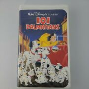 Walt Disney The Classics 101 Dalmatians Black Diamond Collection Vhs Tape Sealed