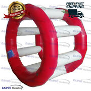 6.6ft Inflatable Water Running Roller For Swimming Pool With Air Pump