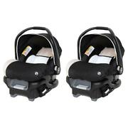 Babytrend Ally 35 Newborn Baby Infant Car Seat Travel System With Cover 2 Pack