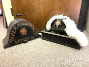 Vintage Knights Templar Of Columbus Early Masonic Hat And Case