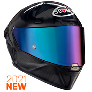 Suomy Sr-gp Carbon Glossy Full Face Motorcycle Helmet Xs-2xl