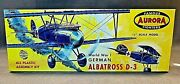 Aurora Famous Fighters Albatross D3 Model 104-69 Early Version Excellent Cond.