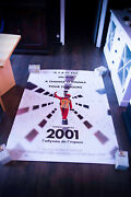 2001 A Space Odyssey 4x6 Ft French Grande Rolled Movie Poster Rerelease 2018