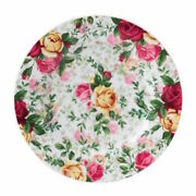 New Pair Royal Albert Old Country Roses Chintz Dessert Cocktail 8 Plates