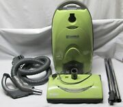 Kenmore Lime Green Hepa Media Filter Canister Vacuum Cleaner W/acc. Model 116