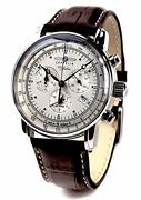 Zeppelin Led Zeppelin Watch 100 Anniversary Model Ivory Andtimes Brown 7680-1 Menand039s [