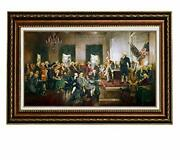 Eliteart-scene At The Signing Of The Constitution Of The United States Paint...