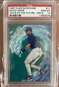1997 Flair Showcase Wave Of The Future David Arias Ortiz Psa 10 Rc Twins Rookie
