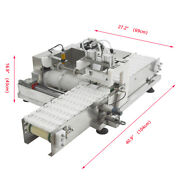 110v Automatic Commercial Stainless Steel Meat String Machine For Barbecue