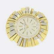 Gold Watch Ring- Vintage Jaeger-le Coultre Watch Ring 18ct Yellow Gold