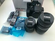 Canon Eos 2000d / Rebel T7 Dslr Canon Ef-s 18-55mm Is Ii+ Canon Ef 75-300mm Iii
