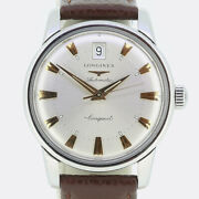 Gents Longines Watch- Longines Stainless Steel Automatic Conquest Wristwatch