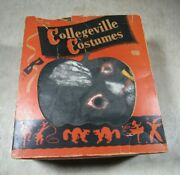 Vintage1920's/30's Collegeville Costumes Hand Painted Horse W/box Halloween