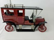 Vintage Antique Ipswich England Model George Carette Style Jb Balloon Car - Red