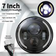 7 Inch Led Headlight Projector Drl For Harley Davidson Road King Street Glide
