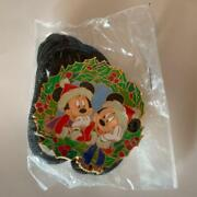 Disney Lanyard Accessory Wdw Cast Exclusive Mickey And Minnie Mouse Christmas Jpn