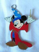Disney Lanyard Accessory Fantasia Sorcere Mickey Mouse Fs From Japan