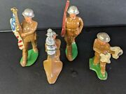 Lot Of 4 Barclay 789 Anti Craft,8 ,7 And Soldier With Massager Pegions