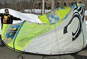 2013 Cabrinha Contra 15 Kitesurfing Kite 15m Overdrive 1x Air Collection