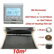 Heating Films Electrical Far Infrared Carbon Fiber Thermostat Room Cool System