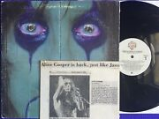 """1978 Alice Cooper """"from The Inside"""" Lp Pic Slve Foldout Cvr News Clipping Wb Vg+"""