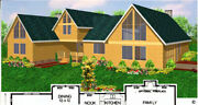 Salinas Country 54x75 Customizable Shell Kit Home Delivered Ready To Build