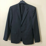495 Theory Menand039s Slim Fit Wool Suite Jacket Blazer Gray Sz 40 Long New