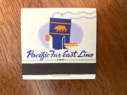 4 Vintage Pacific Far East Ship Line San Francisco Match Books Collectibles New