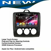 Ford Focus Gps Navigation Bluetooth Apple Carplay Android Auto Stereo Camera