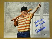 Signed Patrick Renna Autographed 11x14 The Sandlot Photo Beckett Witness Coa Bas