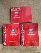 2007 Ford Mustang V6 Gt Shelby Gt500 Oem Repair Manuals