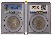 Wurttemberg Germany Rare Silver 1 Gulden Coin 1851 Year Km574 Pcgs Grading Au50