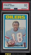 1972 Topps Football Charlie Joiner Rookie Rc 244 Psa 9 Mint