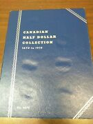 Canadian Half Dollar Collection 1870 To 1910 No.9070