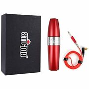 Stigma Rotary Tattoo Machine Professional Pen Japan Motor Rca Connected For Red