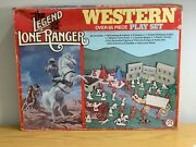 Legend Of The Lone Ranger Playset 1980