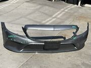 2015 2016 2017 2018 Mercedes C-class C300 Front Bumper W/lower Grills Oem Used