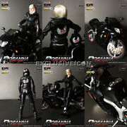 Hot 2009 Zcwo Toys Zc Girls 1/6 Bike Girl Rosanna With Motorcycle 2.0 Pale Vers