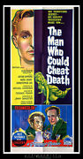 The Man Could Cheat Death Style B 14 X 36 Us Insert Movie Poster Original 1959