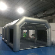 Inflatable Spray Paint Tent Booth Portable Painting House Cover W/ Window