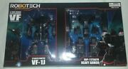 Sdcc Toynami Robotech Stealth Fighter Vf-1j Gbp-1 Stealth Heavy Armor Figure