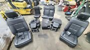 2011-2014 Lincoln Navigator Complete Front 2nd 3rd Row Seat Assembly Oem Black